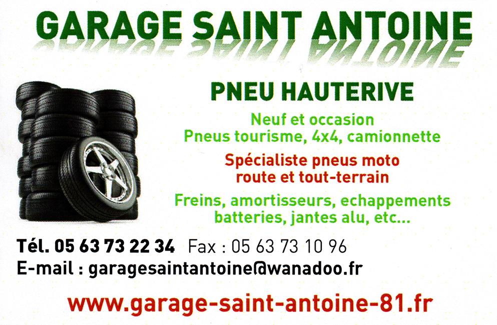 GARAGE SAINT-ANTOINE